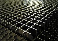 Oceľové podlahové rošty