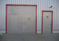 Oceľové protipožiarne vráta