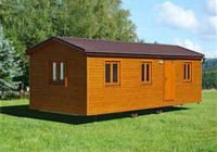 Drevené mobilné domčeky